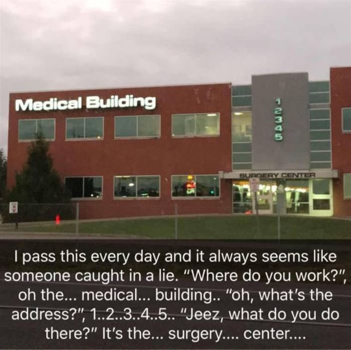 where do you work funny picture
