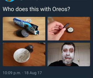 who does this with oreos funny picture