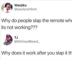 why do people slap it