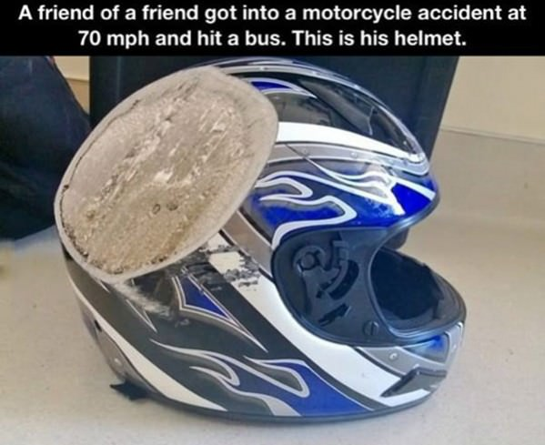 Always Wear A Helmet funny picture