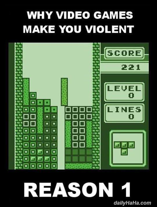 why video games make us violent funny picture