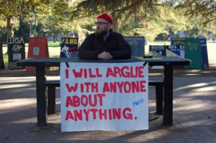 Image result for I can argue about anything