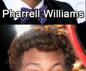 will pharrell ferrell williams funny picture