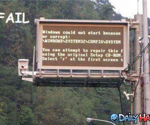 Windows Fail funny picture