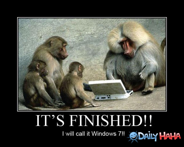 Windows 7 funny picture