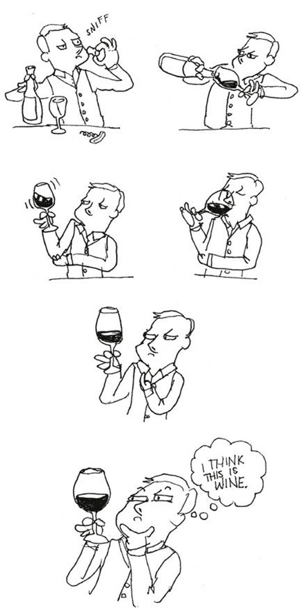Wine Tasters funny picture