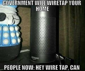 wiretaps in the home funny picture