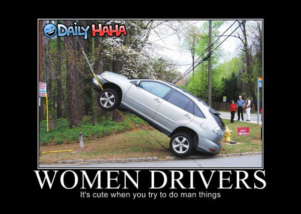 Women Drivers funny picture