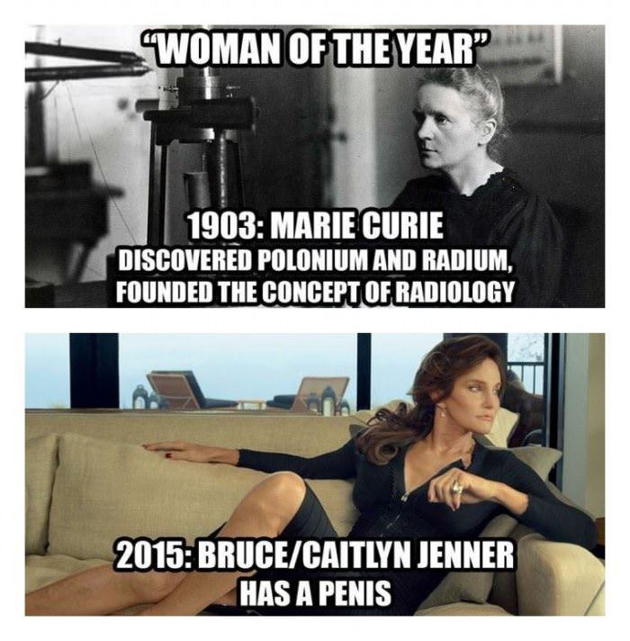 woman of the year funny picture