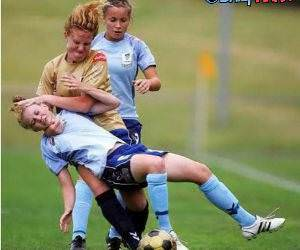 Womans Soccer funny picture