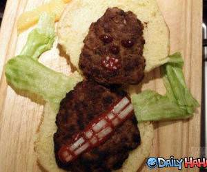 Wookie Burger funny picture