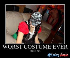 Worst Costume Ever funny picture