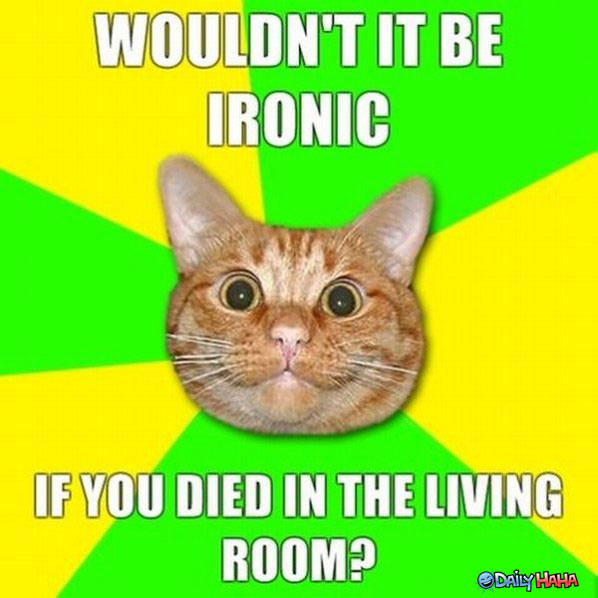 so ironic funny picture
