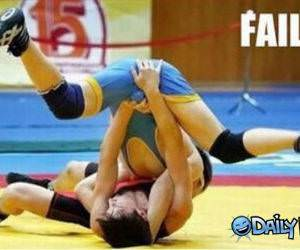 Wrestling Move funny picture