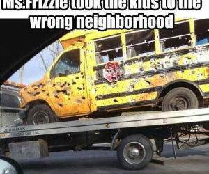 Wrong Neighborhood funny picture