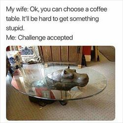 you can choose the coffee table