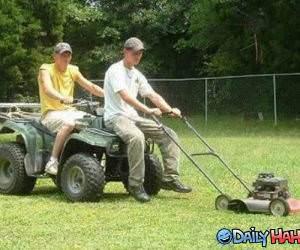 Lazy Rednecks funny picture