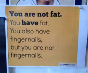 you are not fat funny picture