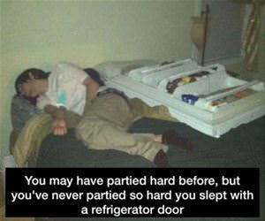 you may have partied hard funny picture