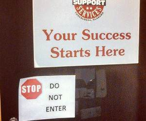 your success starts here funny picture
