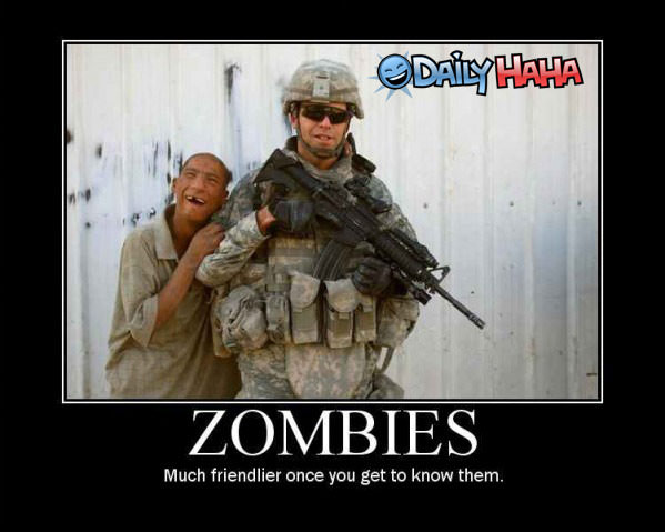 Zombies Funny Picture