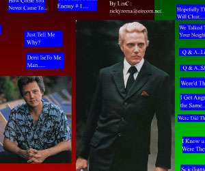 Another Christoper Walken SoundBoard