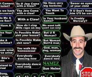 Huge Borat Soundboard