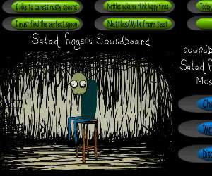 Salad Fingers Soundboard