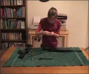 11 year Old Rifle Girl Video