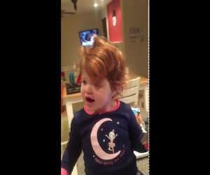 2 year old covers adeles hello Funny Video