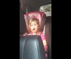 Adorable Toddler does perfect rendition of Bohemian Rhapsody Funny Video