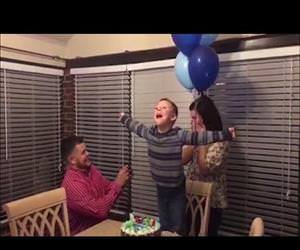 Boys birthday wish for parents to marry finally comes true Funny Video