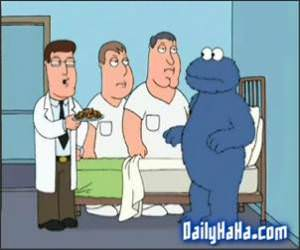 Cookie Monster from Family Guy