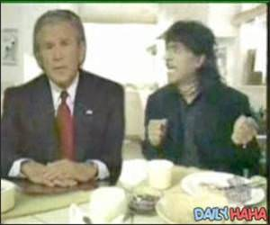 George Bush Little Richard
