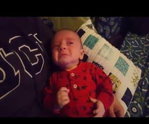 Imperial March Soothes Crying Baby Funny Video