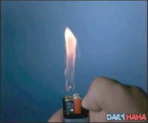 Lighter in Slow Motion Video