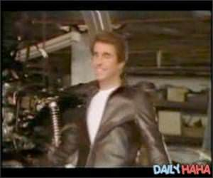 The Fonz says No PSA Video