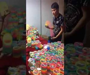 amazing slinky tricks Funny Video