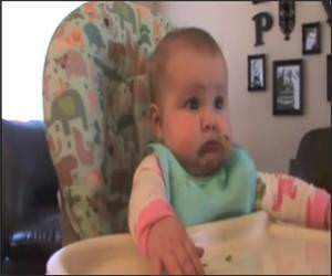 Baby Vs Beans Funny Video