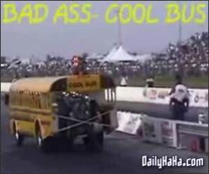 Bad ass school bus