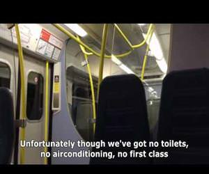 best train announcement ever Funny Video