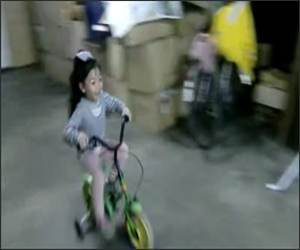 Bicycle Parking Funny Video