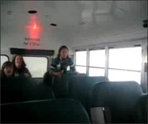 Big Bus Bump Funny Video