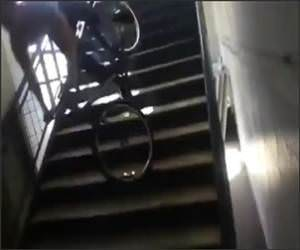Funny Bike Stairs and Fail Video