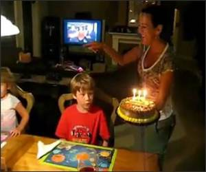 Birthday Cake Fail Funny Video