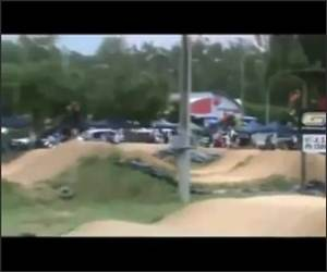 BMX Race Fail Funny Video