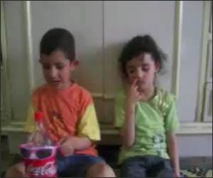 Boy Slaps his Sister Video