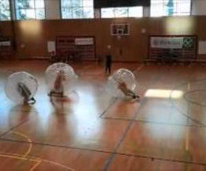 bubble soccer Funny Video