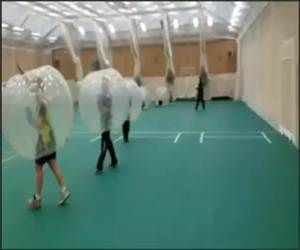 Bubble Training Funny Video