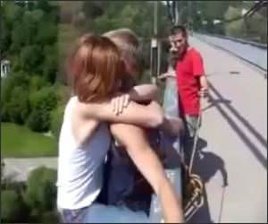 Bungee Jumping without Harness Video